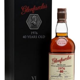 Glenfarclas 1976 / 40 Year Old Speyside Single Malt Scotch Whisky