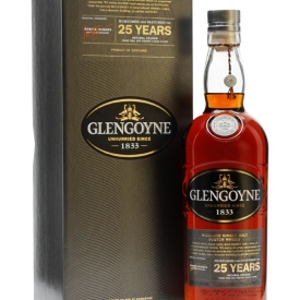 Glengoyne 25 Year Old / Sherry Cask Highland Single Malt Scotch Whisky