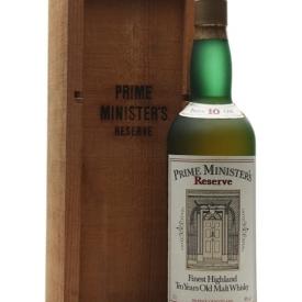 Glenlivet 10 Year Old / Prime Minister's Reserve / Bot.1980s Speyside Whisky