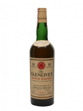 Glenlivet 1951 / 18 Year Old Speyside Single Malt Scotch Whisky