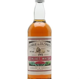 Glenlivet 1951 / Gordon & Macphail Speyside Single Malt Scotch Whisky
