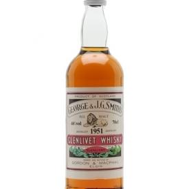 Glenlivet 1951 / Gordon & Macphail Speyside Single Malt Scotch Whisky