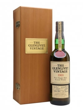 Glenlivet 1969 / Bot.1998 Speyside Single Malt Scotch Whisky