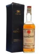 Glenlivet 20 Year Old / Bot.1960s Speyside Single Malt Scotch Whisky