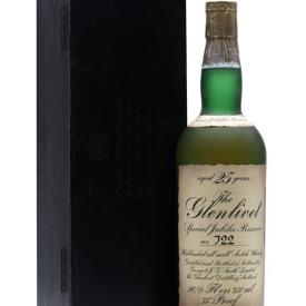 Glenlivet 25 Year Old / Silver Jubilee Speyside Whisky