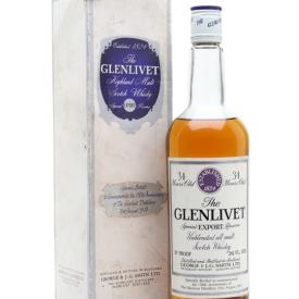 Glenlivet 34 Year Old / 150th Anniversary Speyside Whisky