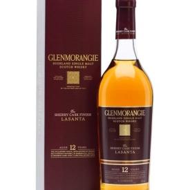 Glenmorangie Lasanta 12 Year Old / Oloroso and PX Finish Highland Whisky