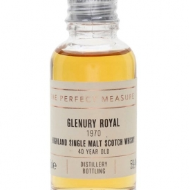 Glenury Royal 1970 Sample / 40 Year Old Highland Whisky
