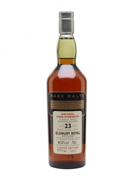 Glenury Royal 1971 / 23 Year Old / Rare Malts Highland Whisky