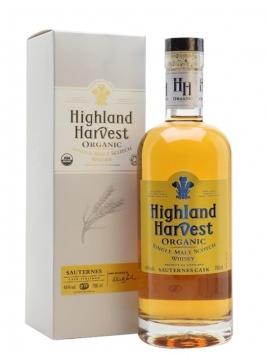 Highland Harvest Organic / Sauternes Finish Single Malt Scotch Whisky