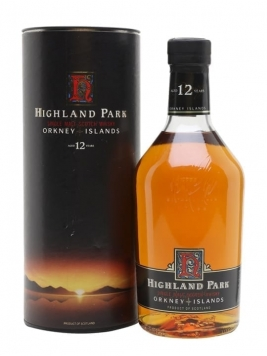 Highland Park 12 Year Old / Bot.1990s / Litre Island Whisky