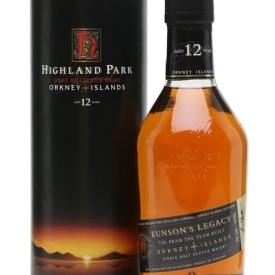 Highland Park 12 Year Old / Eunson's Legacy Island Whisky