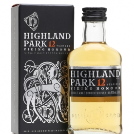 Highland Park 12 Year Old Miniature Island Single Malt Scotch Whisky