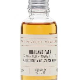 Highland Park 12 Year Old Sample / Bot.1990s Island Whisky