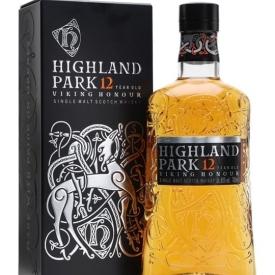 Highland Park 12 Year Old / Viking Honour Island Whisky