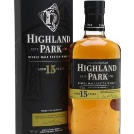Highland Park 15 Year Old Island Single Malt Scotch Whisky