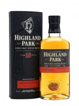 Highland Park 18 Year Old Island Single Malt Scotch Whisky