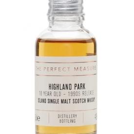 Highland Park 18 Year Old Sample / Bot.1990s Island Whisky