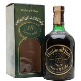 Highland Park 1959 / 18 Year Old / Bot.1977 Island Whisky