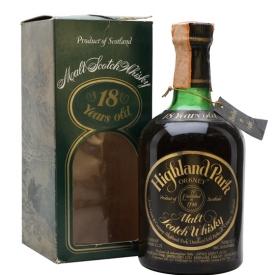 Highland Park 1960 / 18 Year Old / Bot.1978 Island Whisky