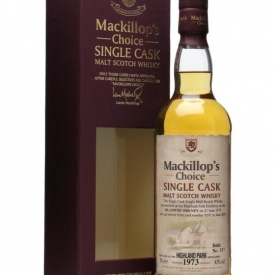 Highland Park 1973 / Bot.2007 / Mackillop's Island Whisky