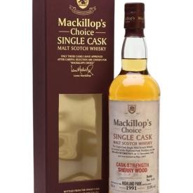 Highland Park 1991 / Bot.2007 / Sherry Cask / Mackillop's Island Whisky