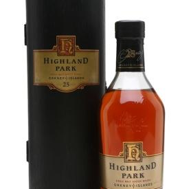 Highland Park 25 Year Old Island Single Malt Scotch Whisky