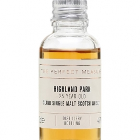 Highland Park 25 Year Old Sample Island Single Malt Scotch Whisky