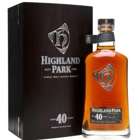Highland Park 40 Year Old Island Single Malt Scotch Whisky