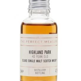 Highland Park 40 Year Old Sample Island Single Malt Scotch Whisky