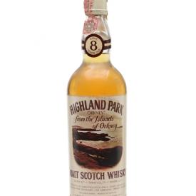 Highland Park 8 Year Old / Bot.1980s Island Single Malt Scotch Whisky