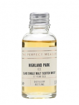 Highland Park Ice 17 Year Old Sample Island Single Malt Scotch Whisky