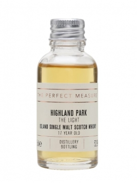 Highland Park The Light 17 Year Old Sample Island Whisky