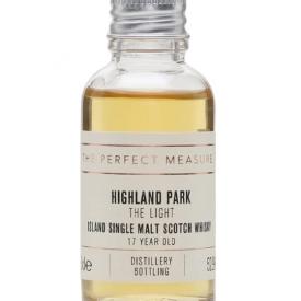 Highland Park The Light 17 Year Old Sample Island Whisky