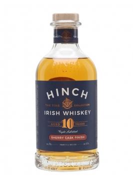 Hinch 10 Year Old Sherry Cask Finished Irish Whiskey