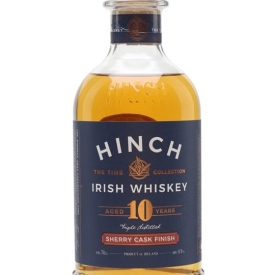 Hinch 10 Year Old Sherry Cask Finished Irish Whiskey