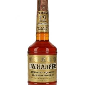 I W Harper 12 Year Old / Bot.1970s Kentucky Straight Bourbon Whiskey
