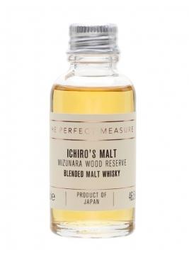 Ichiro's Malt MWR Sample / Mizunara Wood Reserve Japanese Whisky