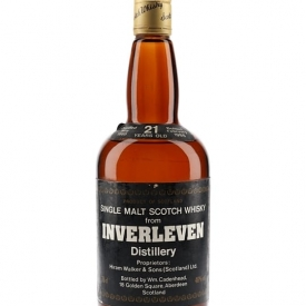 Inverleven 1966 / 21 Year Old Lowland Single Malt Scotch Whisky