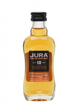 Isle of Jura 10 Year Old Miniature Island Single Malt Scotch Whisky