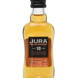 Isle of Jura 10 Year Old Miniature Island Single Malt Scotch Whisky