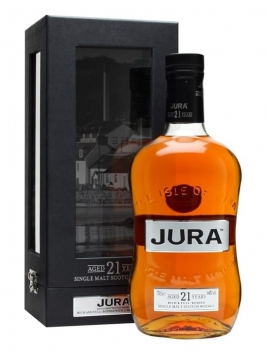 Isle of Jura 21 Year Old Island Single Malt Scotch Whisky