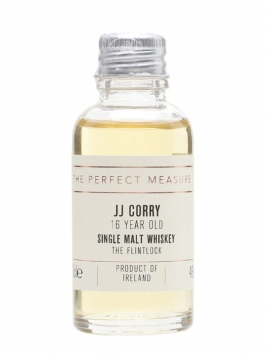 JJ Corry The Flintlock 16 Year Old Sample Irish Single Malt Whiskey