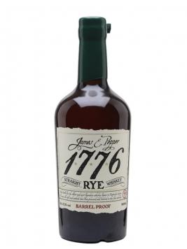 James E Pepper 1776 Barrel Proof Rye Straight Rye Whiskey