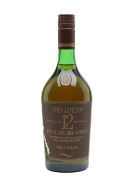 Jameson 12 Year Old / Bot.1970s Blended Irish Whiskey