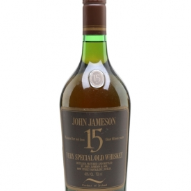 Jameson 15 Year Old / Bot.1980s Irish Whiskey