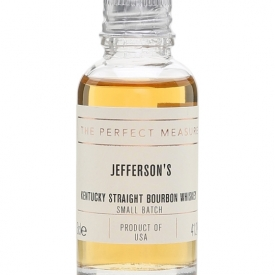 Jefferson's Bourbon Sample