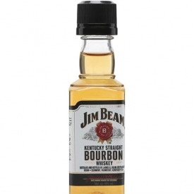Jim Beam White Label Miniature Kentucky Straight Bourbon Whiskey
