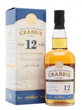 John Crabbie 12 Year Old Island Single Malt Scotch Whisky