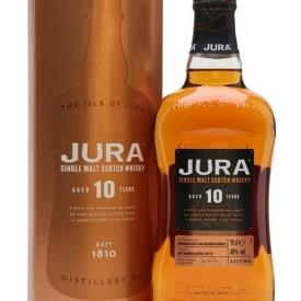 Jura 10 Year Old Island Single Malt Scotch Whisky